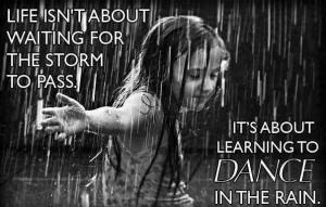 Dance in de rain